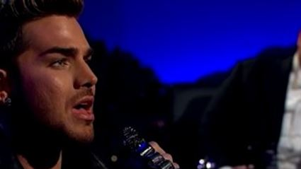Adam Lambert Serenades James Corden