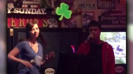 Daniel Radcliffe Sings 'Real Slim Shady' At Karaoke
