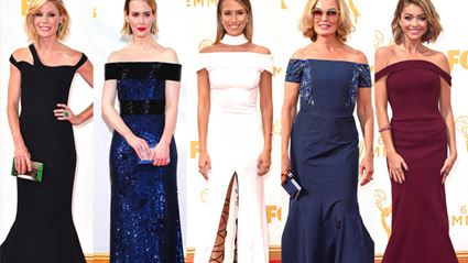 Stars On The Red Carpet At The 2015 Emmy Awards