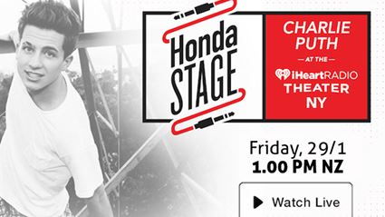 iHeartRadio Presents Charlie Puth on the Honda Stage