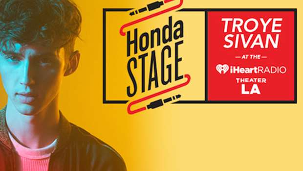 WATCH: Troye Sivan LIVE On The Honda Stage at the ...