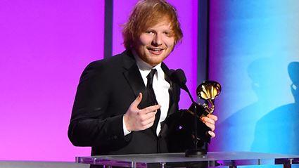 The Grammy's Made An Embarrassing Blunder During Ed Sheeran's Speech
