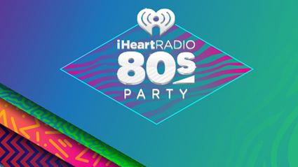 Backstage at the iHeart80s Party