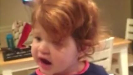 Watch: 2 Year Old Covering 'Hello' By Adele