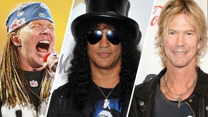 Slash Is Recording For Guns N' Roses