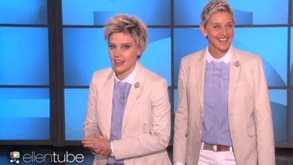 Kate McKinnon Impersonates Ellen DeGeneres