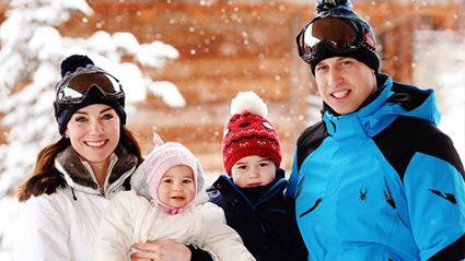 PHOTOS: The Royal Family Snow Holiday