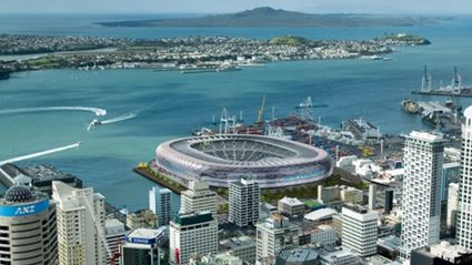 New Push For Central Auckland Stadium