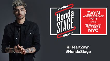 WATCH: ZAYN Album Release Party On The Honda Stage At The iHeartRadio Theater