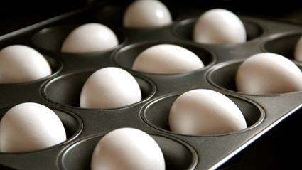 Life Hack: Hard-Boiling Eggs In The Oven