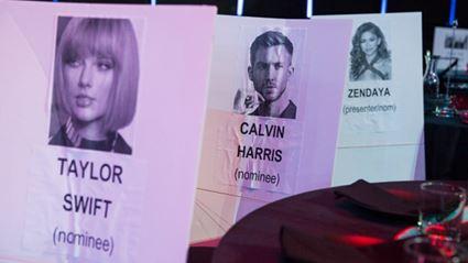 2016 iHeartRadio Music Awards Seating Chart