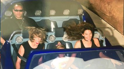 Taylor Swift's Bodyguard Wins The Internet In Hilarious Disneyland Snap