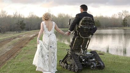 WATCH: Paralyzed Groom Defies All Odds And Stands At Wedding