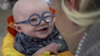 WATCH: Baby Sees Mom Clearly for First Time in Viral Video