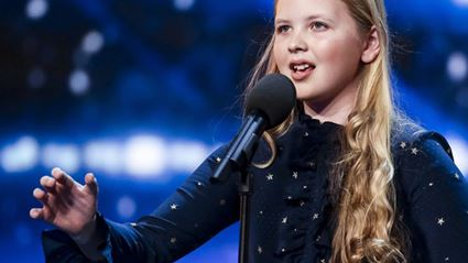 Watch: 12-Yr-Old Girl Sent Straight To Semis After 'Defying Gravity' Audition on BGT