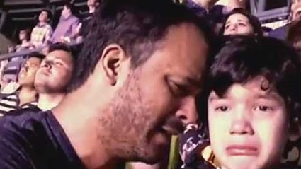 Boy With Autism Overwhelmed With Emotion at Coldplay Concert