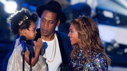WATCH: Jay Z & Blue Ivy Dancing Hard Backstage At Formation Tour