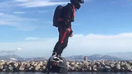 Hoverboard Breaks Record