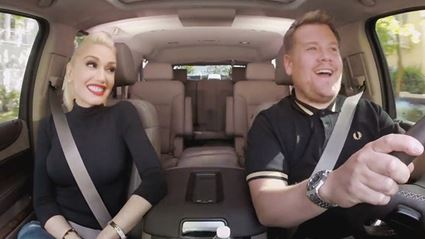 Gwen Stefani Is The Next Star To Hit James Corden's 'Carpool Karaoke' (VIDEO)