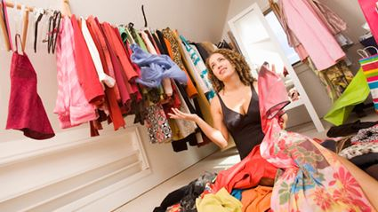 Do you own a normal amount of clothes?