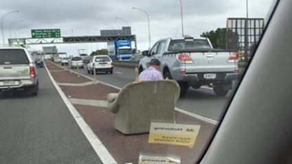 The Mystery Of The Harbour Bridge Couch Man