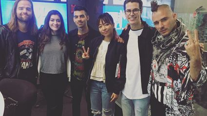 DNCE Interview With Cam Mansel