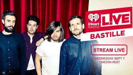STREAM Bastille Performing LIVE For iHeartRadio