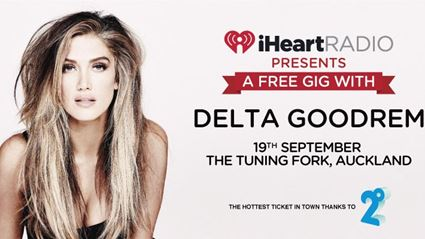 Delta Goodrem Live At The Tuning Fork In Auckland