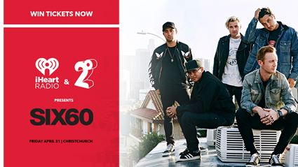 WATCH LIVE: SIX60 free iHeartRadio concert in Christchurch
