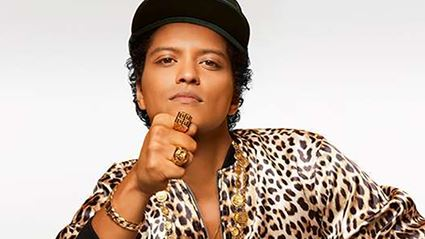 Bruno Mars is totally coming to NZ!