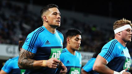 """Sonny Bill Williams addresses his """"toughest"""" task for the month"""