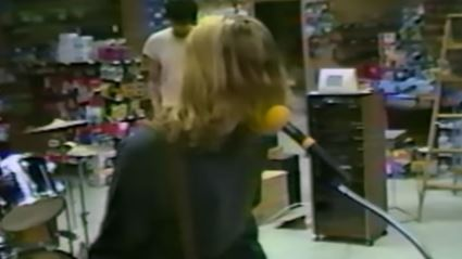 Previously unreleased footage of Nirvana performing in 1988 has surfaced