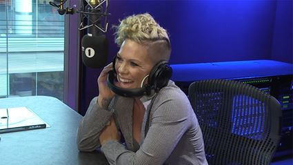Pink forgets the words to her old songs in hilariously new video