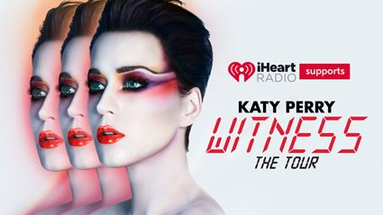 iHeartRadio supports Katy Perry