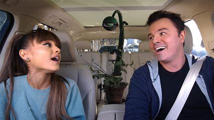 Watch Ariana Grande's breathtaking Carpool Karaoke