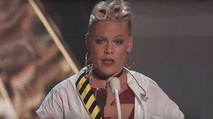 Pink's emotional speech for her daughter at the VMAs is a MUST watch!