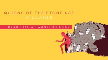 "Listen to the latest QOTSA single ""Head Like A Haunted House"""