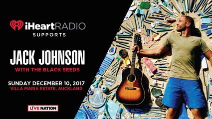 iHeartRadio supports Jack Johnson's Summer Tour 2017