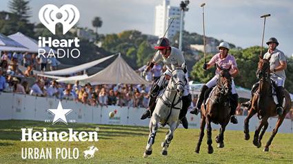 iHeartRadio supports Heineken Urban Polo