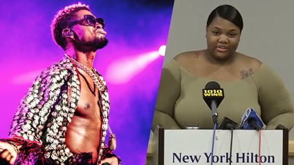 Usher's accuser has been caught straight up lying with the biggest yarn