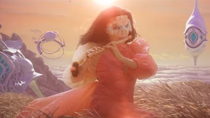 """Watch the trippy new video from Björk for """"The Gate"""""""