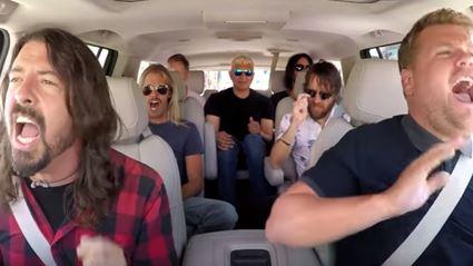 Watch the Foo Fighters on Carpool Karaoke