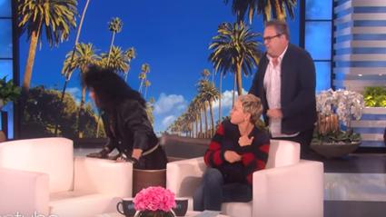 Modern Family star Eric Stonestreet gets his revenge on Ellen!
