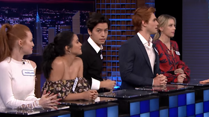 Cole and Lili tried to play it cool on Jimmy Fallon but fans caught this moment!