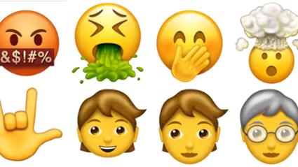 Apple's releasing new emojis next week!