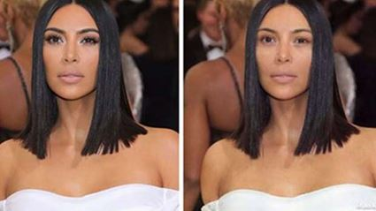 This new app lets you see what celebrities would look like with no makeup on