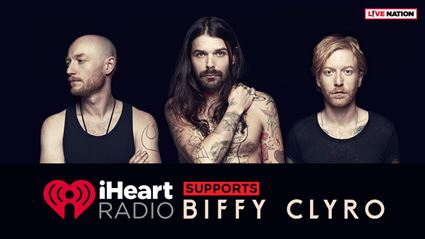 iHeartRadio supports BIFFY CLYRO!