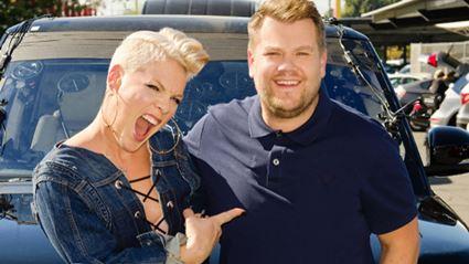 P!nk explains why Bon Jovi sent her his pants in latest Carpool Karaoke!
