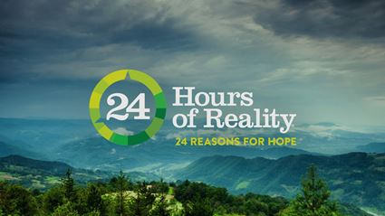 Watch Live – 24 Hours of Reality: Be the Voice of Reality