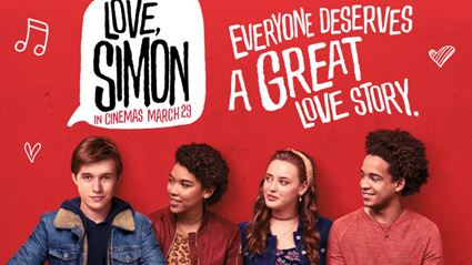 Be in to win a double movie pass to Love, Simon
